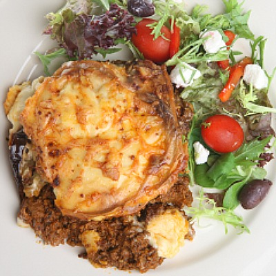 Homemade Greek Moussaka