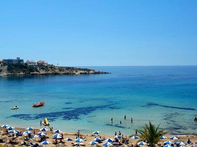 Coral Bay Beach Paphos