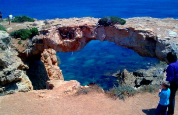 Cape Greko Natural Bridge