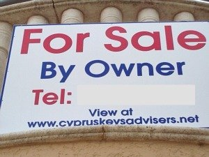 Cyprus for sale by owner sign
