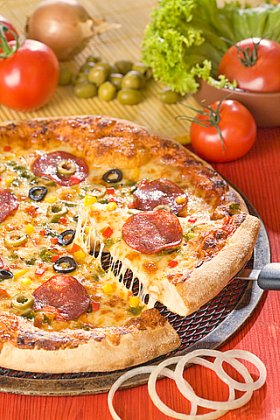 Authentic Greek Pizza
