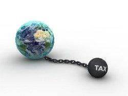 World Tax Symbol